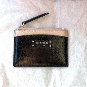 NWT✨ kate spade small zip card holder